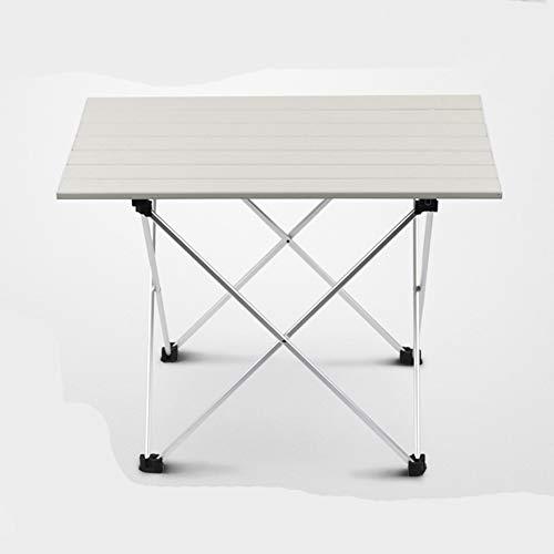 Cozyhoma Tragbarer Klapptisch aus Ultraleichter Aluminiumlegierung, kompakter Esstisch mit Aufbewahrungstasche für Grill, Camping, Picknick, Rucksackreisen
