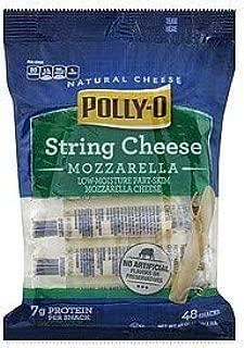 Polly-O String Cheese Mozzarella Low-Moisture Part Skim Cheese 48 stick
