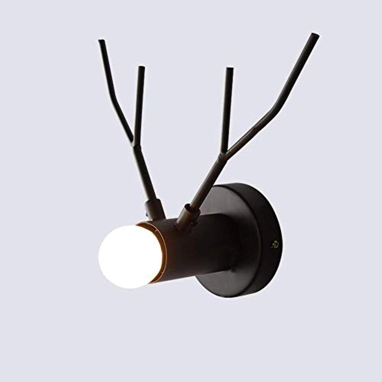 Oevina Mode Schwarze Kitz Wandleuchte, Moderne minimalistische Persnlichkeit dekorative Wandleuchte für die Beleuchtung Schlafzimmer Nacht Korridor Nachtlicht (Farbe   Schwarz, gre   26x19cm)
