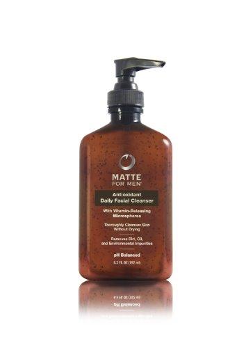 Matte For Men Antioxidant Daily Facial Cleanser, 6.5-Ounce