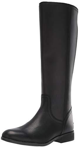 Frye and Co. Women's Jolie Back Zip Knee High Boot, Black, 8.5 M US