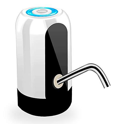 Bomba Elétrica Filtro Para Galão de Água 10 20 litros com Dispensador Automática Cor:Branco (UT)