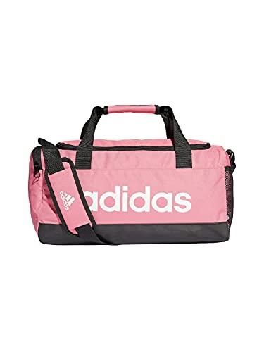 adidas Linear Duffel S - Borsa sportiva, per adulti, unisex, tonro/nero/bianco (multicolore), taglia unica
