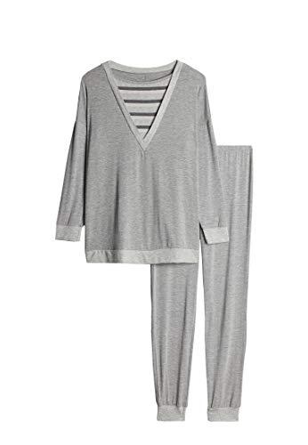 Intimissimi Damen Langer Pyjama aus Modaljersey
