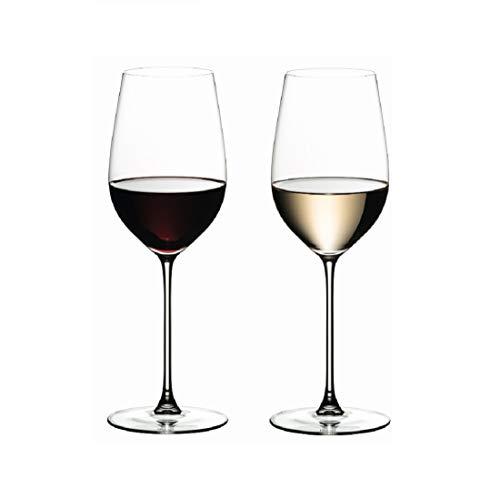 RIEDEL 6449/15Veritas 2Bicchieri da Vino Bianco Riesling/primitivo, 395ml