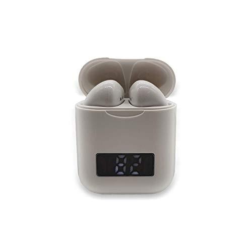 Serra Bluetooth Kopfhörer in Ear - Kabellos TWS Bluetooth 5.0 Sportkopfhörer mit LED Digitalanzeige - 3D Surround Sound Fingerabdruck berühren Binauraler HD-Anruf In Ear - Kopfhörer fit all Smartphone