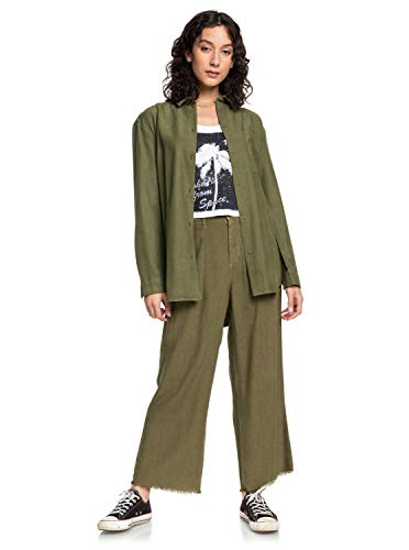 Quiksilver Womens - Cropped Flared Lined Trousers - Frauen