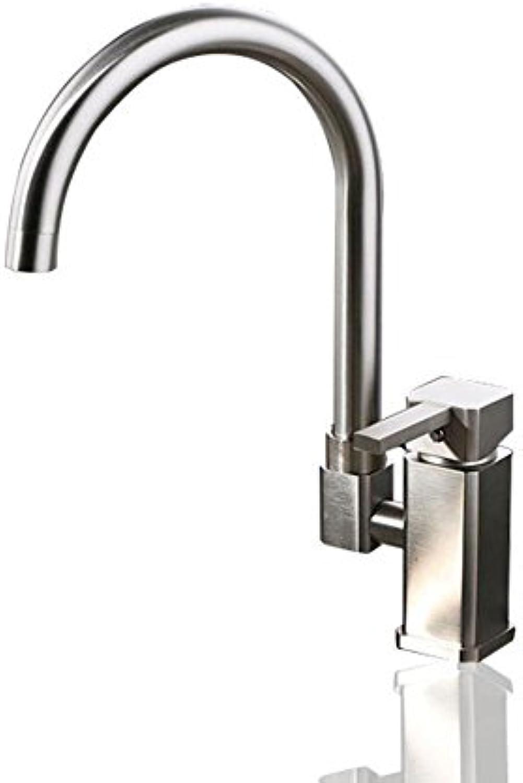Liudaye Warmen und Kalten Wasserhahn Küche Voll Kupfer Zeichnung Wasserhahn