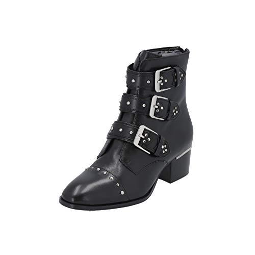 Bronx 46979 Damen Stiefel Schwarz Schnür-Stiefelette Winter, Größe:EUR 40 (UK 6.5)