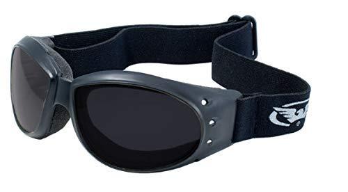 Global Vision - Occhialini eliminatori con custodia in microfibra, Unisex - Adulto, ..., Elim SD, Super Dark, ...