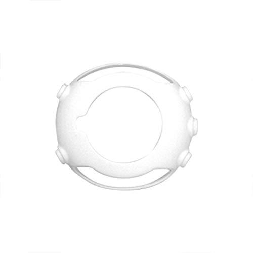 JSxhisxnuid Coque pour SUUNTO Core Watch,Coque en Silicone Ultra-Mince Etui Souple Mate Couverture Complète Anti-Choc Digitale Coque,pour SUUNTO Core Watch (Blanc)