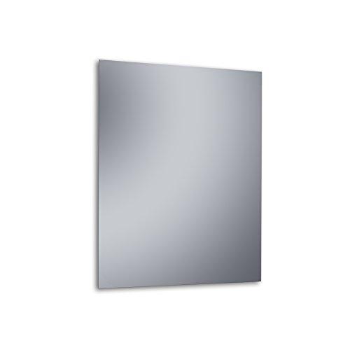 """Kristaled Basic """"L"""" 50x70 cm (Colgador Especial focos Pinza) Espejo, Cristal, Plateado, 50x80x2.5 cm"""