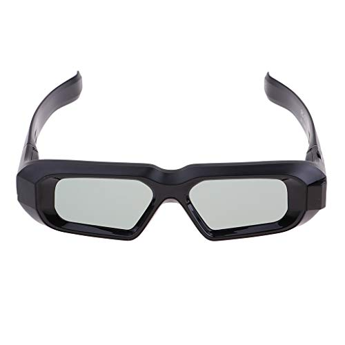 B Blesiya Leichte Und Wiederaufladbare DLP Link 3D Brille für DLP LINK 3D Fernseher