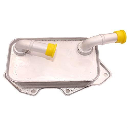 MAIOPA Práctico Enfriador de Aceite del Motor para 05-14 VW 2.8L 3.0L 3.1L 3.2L 06E177021G 06E 117 021G 06E 117 021 G Accesorio