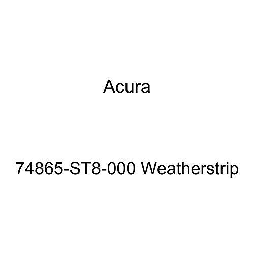 Genuine Acura 74865-ST8-000 Weatherstrip