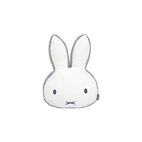 Tiamo NIJN1095 Miffy Hase ABC Kissen Spielkissen weiß grau