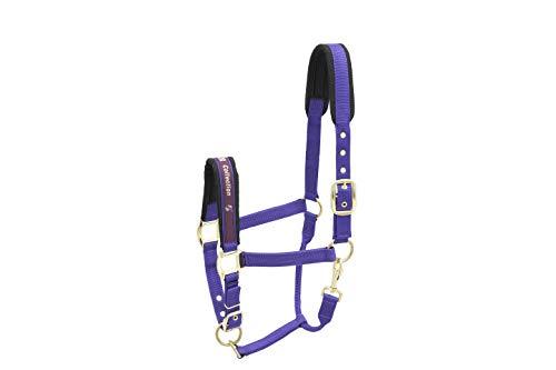 Kieffer Cabezada de cuadra Nylon COLLECTION, Púrpura, Pony