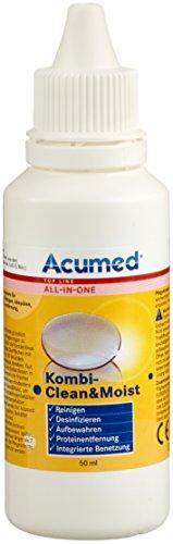 Acumed 1257 Kombi Clean & Moist 3er Set (3x 50ml)