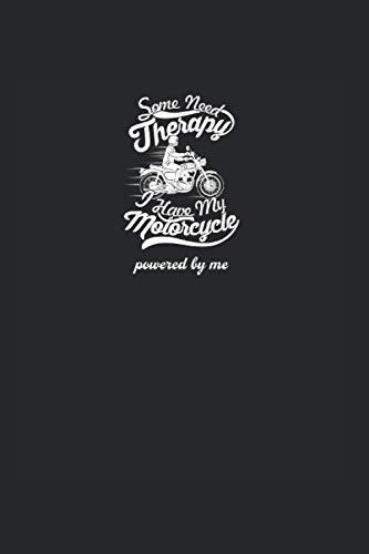 Motorrad: Liniertes Motorrad Notizbuch oder Motocross Notizheft liniert - Chopper Journal für Männer und Frauen mit Linien