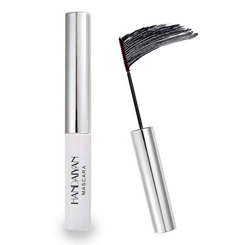 GL-Turelifes Mascara 12 couleurs Mascara fibre colorée Mascara de charme longue durée, cils épais et longs maquillage des yeux imperméable et anti-bavures (#01 Noir)