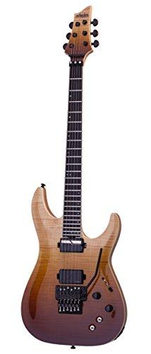 Schecter 1358 Solid-Body - Guitarra eléctrica, diseño envejecido