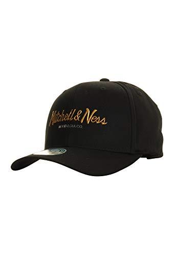 Mitchell & Ness Snapback 110 Metallic Weald Pinscript Logo, Black