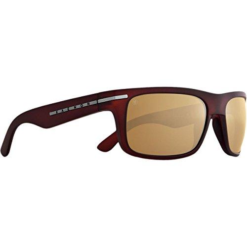 Kaenon Polarized Burnet Sunglasses - Gold Coast Frame - Brown B-12 Gold Mirror Lens