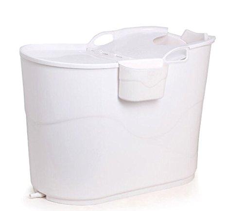 Large Badewanne Children's isoliert Wanne Plastik Wanne weiß