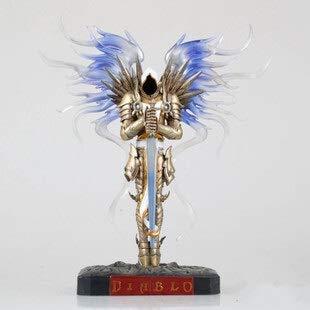 Kaikai Anime Diablo Archangel Tyrrell Blizzard World of Warcraft Statue Puppe-Modell-Dekoration 27cm