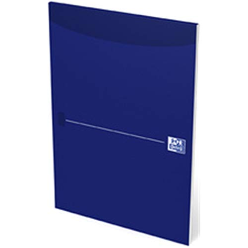 Oxford 100050239 Office Briefblock - A4, blanko, kopfgeleimt, blau