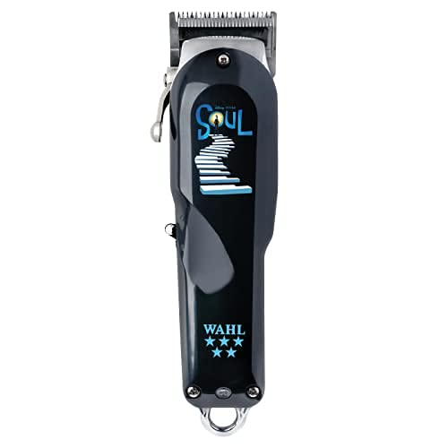 Wahl professional - Disney/Pixar Soul 5 Star Series Cordless Senior Clipper with Adjustable Blade, Lithium Ion Battery, 80 Minute Run Time - for Professional Barbers &Stylists - Model 8504-600