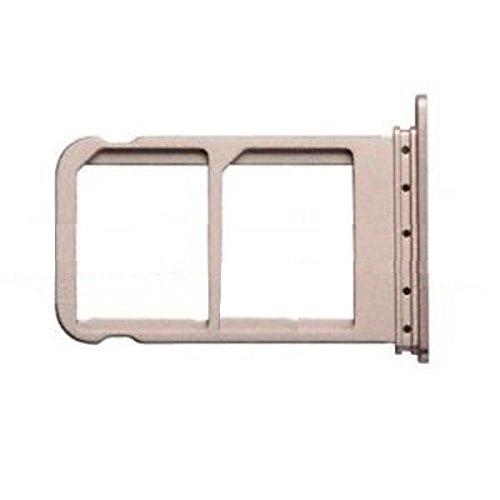 Kompatibel mit Huawei Mate 10 Pro BLA-L09 (Single Sim) & BLA-L29 (Dual Sim) Halterung, Adapter-Slot, SIM-Kartenhalter, Tasche & Micro-SIM-Karte (Gold)