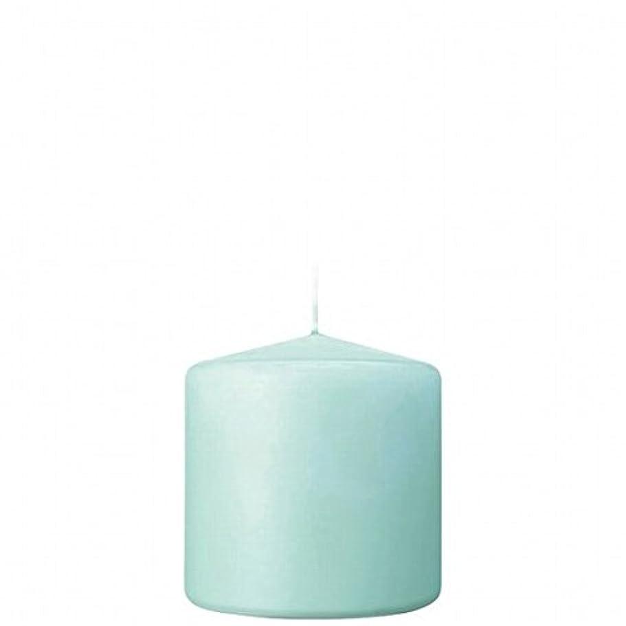 高層ビルスライス預言者kameyama candle(カメヤマキャンドル) 3×3ベルトップピラーキャンドル 「 ライトブルー 」(A9730000LB)