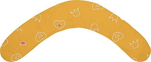 Theraline Dodo Pillow Stillkissen 170 cm inkl. Bezug 76 Krönchen Orange