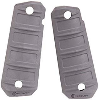 Recover Tactical RG15PG RG15 Quick Change Rubber Grips, 1911, Phantom Gray