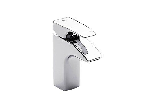 Roca Thesis - grifo monomando para lavabo con desagüe automático . Griferías hidrosanitarias Monomando. Ref.A5A3050C00