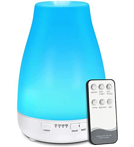 Essential Oil Diffuser, AIMASON 200ML Ultrasonic Air Mist Aromatherapy...