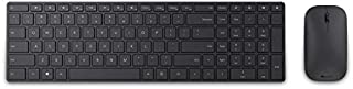 Microsoft 7N9-00019 Bluetooth 4.0 Blue Track Technology Keyboard and Mouse - English and Arabic