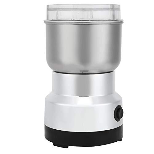 Toasses Multifunctinale elektrische Kaffeemühle Küchende Körner Nüsse Bohnen Gewürze Fräsmaschine (EU-Stecker 220V)