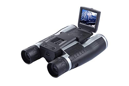 双眼鏡カメラ 12倍 口径 32mm 高倍率 デジタルカメラ双眼鏡 フルHD1080Pハイビジョン 2.0 LCD 双眼鏡ビデオカメラ コンサート バードウォッチング ライブ ドーム ゴルフ 競輪競馬競艇レース スポーツ観戦など用のカメラ付き録画望遠鏡 日本語取扱説明書付き