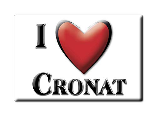 Enjoymagnets CRONAT (71) Souvenir France Centre Fridge Magnet KÜHLSCHRANK Magnet ICH Liebe I Love