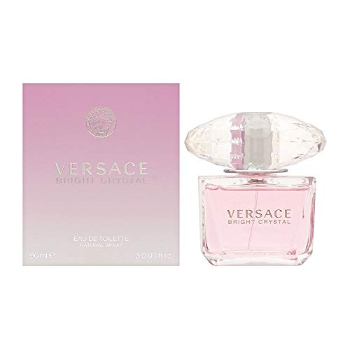 Versace Bright Crystal Eau de Toilette Spray, 3 Fluid Ounce