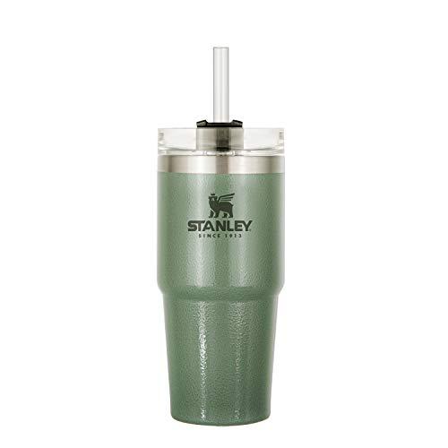 STANLEY(スタンレー) 真空スリムクエンチャー 0.47L グリーン 保冷 保温 頑丈 水筒 アウトドア 保証 (日本正規品)09871-015
