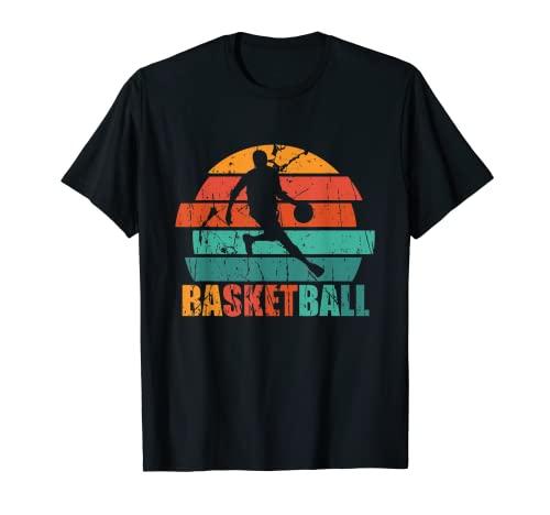 Camiseta de Baloncesto Retro Vintage Regalo Jugador de Balon Camiseta