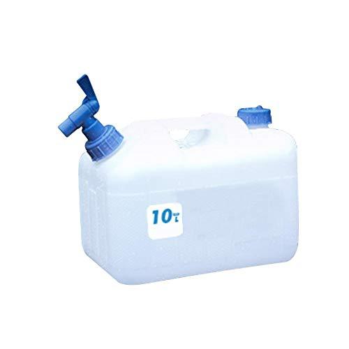 Cheerfulus Wasserkanister mit Hahn, Wasserbehälter Kanister für Auto, Outdoor Camping Wassertank
