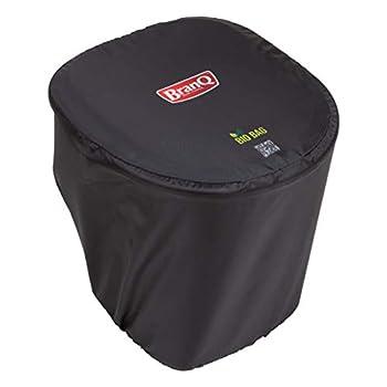 BranQ - Home essential Toilettes Mobiles de Camping en Polyester, Noir, 37,5 x 34,5 x 37 cm