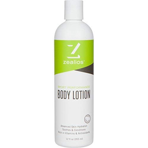 Zealios Swimmers Lotion - Hydrates & Moisturizes Skin from Pool Chemicals/Saltwater - Vitamin & Antioxidant Chlorine Neutralizing Skin Repair 12 oz Non-Greasy