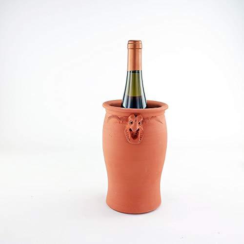 Palatina Werkstatt exklusiver und handgefertigter Weinkühler | Flaschenkühler aus echter Terracotta | Qualitätsprodukt Made in Germany | funktionell und sehr dekorativ