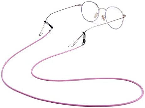 Amaxer 2 correas de cordón de cera ecológica, coloridas, para gafas de sol, cadena para mujer y hombre