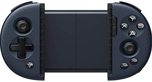 ZGYQGOO Manette Jeu Bluetooth4.0, contrôleur Chargeur Rechargeable pour Chargeur Manette Jeu, Manette Jeu sans Fil, Manette Jeu sans Fil, compatibilité Manette Jeu sans Fil pour Android/iOS, Noir